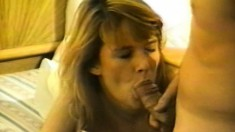 Busty Lynn Lemay gets a stiff jackhammer up both her tight holes