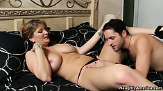 Robbye Bentley gets her freak on with a young and eager dude
