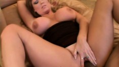 Hot Darla has huge jugs and wants to show them off while fucking