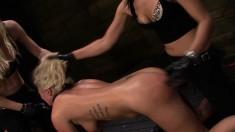 Lustful Layla Price Enjoys Intense Orgasms Between Two Strap-on Toys