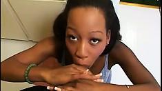 Lusty Adina Jewel can't wait to have her cumhole slammed hard