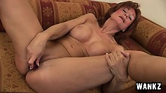 Mature and ginger is the best kind of pussy to watch get fucked