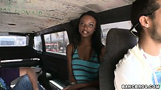 The Bangbrus welcomes a tight ebony cutie aboard for some fun