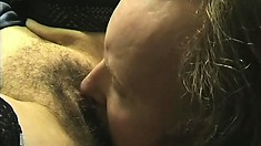 Horny old Alison will ride any willing dick that comes her way