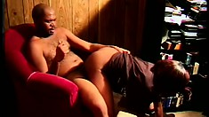 Red bone hooker rides on that dick while shaking her big booty