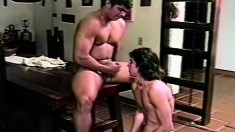 Hot gay friends Rodrigo and David Leon fucking and sucking each other