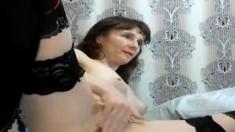 Shy Milf Fisting Herself On Webcam