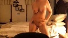 My gorgeous mom after shower. Hidden cam